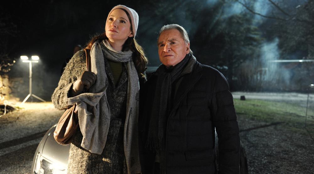 Fritz Wepper und seine Tochter Sophie in