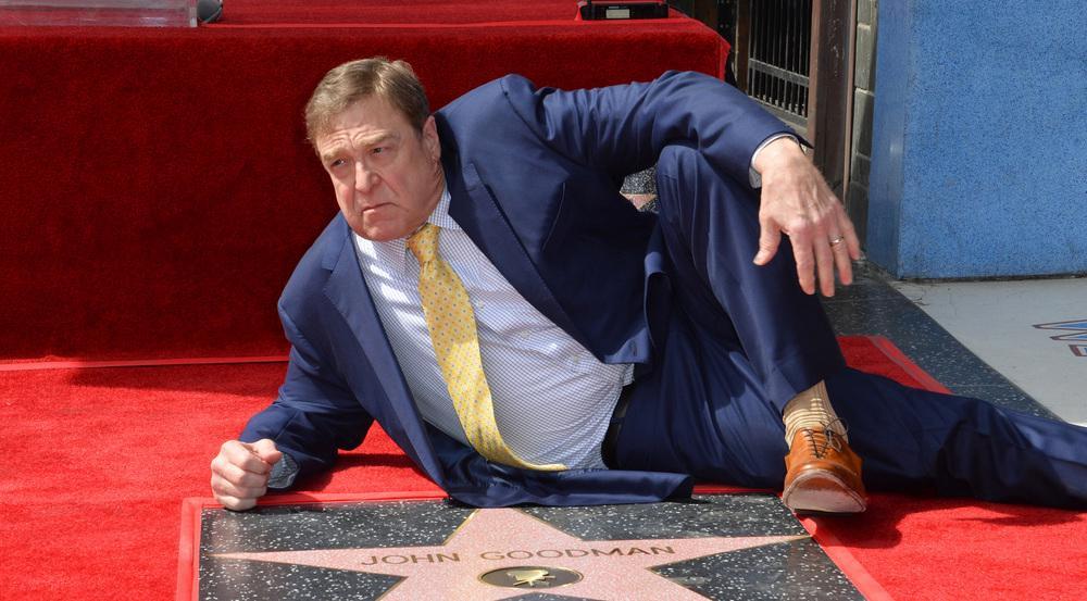Auch einen Stern am Hollywood Walk of Fame darf John Goodman sein Eigen nennen
