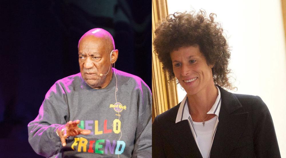 Angeklagter und Klägerin: Bill Cosby und Andrea Constand