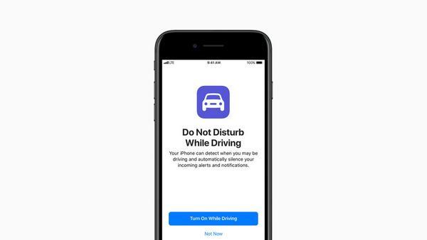 """Praktische Funktion in iOS 11: """"Beim Fahren nicht stören"""""""