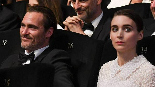 Joaquin Phoenix und Rooney Mara bei den vergangenen Filmfestspielen von Cannes