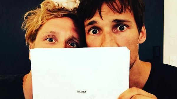 Ein Dreamteam vor und hinter der Kamera - und hinter dem Drehbuch: Matthias Schweighöfer (l.) und Florian David Fitz