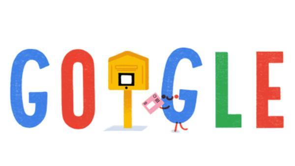 Google wirbt mit einem Doodle für die Briefwahl