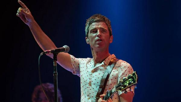 "Noel Gallagher bei dem ""We Are Manchester""-Konzert am Samstag"