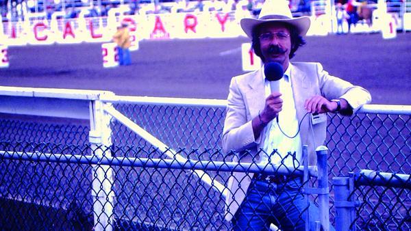 """1983: Jean Pütz mit der """"Hobbythek"""" in Kanada"""