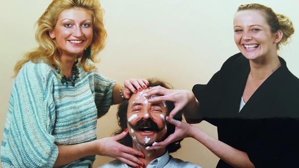 Der Bart ist Jean Pütz' Markenzeichen