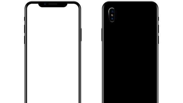 Ein aktuelles Mockup: So könnte das neue iPhone X aussehen