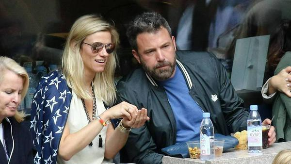 Ben Affleck und Lindsay Shookus gemeinsam bei den US Open