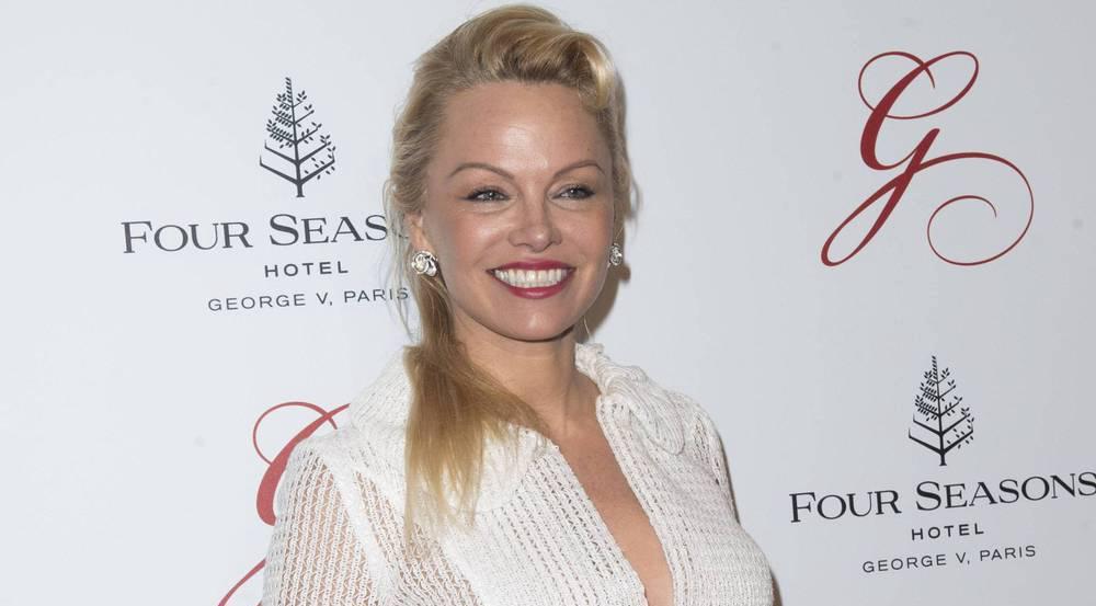 Pamela Anderson bei der