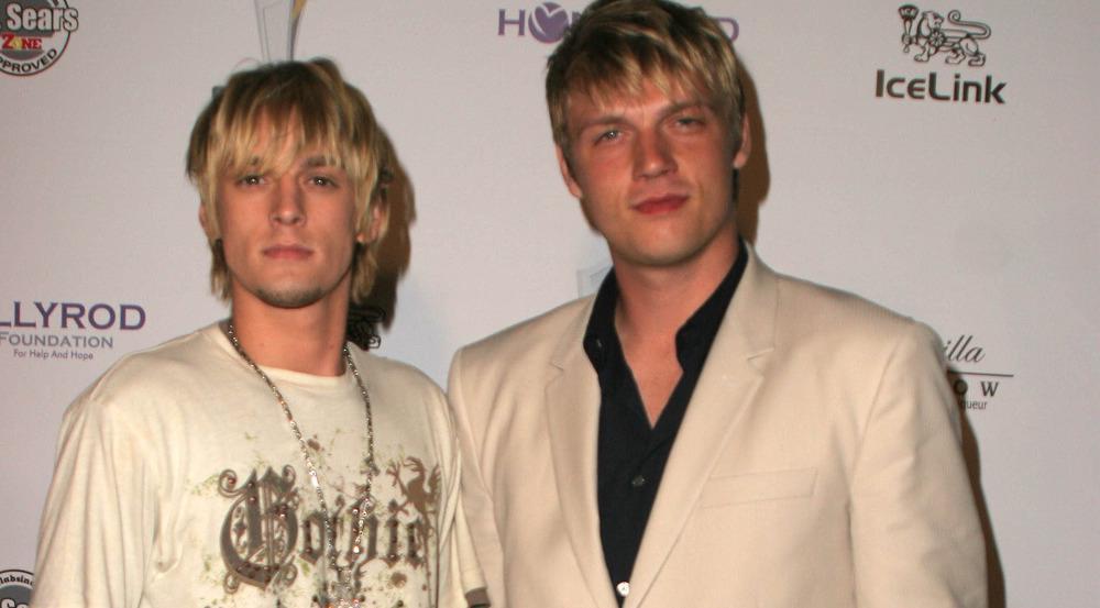 Aaron (l.) und Nick Carter auf einem Event in Los Angeles