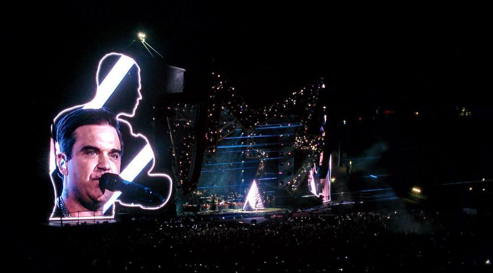 Robbie Williams brachte das Olympiastadion in München zum Beben