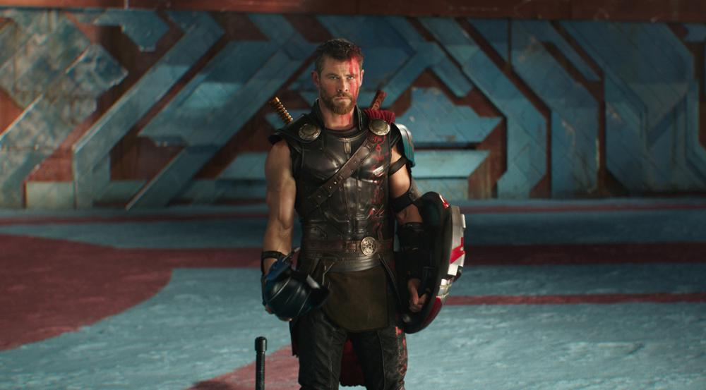 Chris Hemsworth alias Thor in