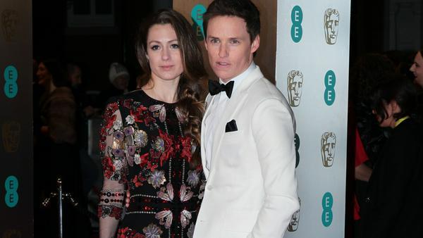 Eddie Redmayne und seine Frau Hannah bei einem Auftritt in London