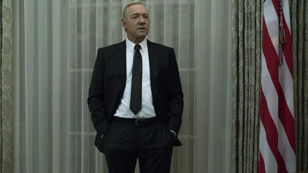 "Kevin Spacey als Frank Underwood in ""House of Cards"""
