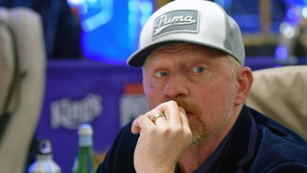 Boris Becker am Pokertisch in Tschechien