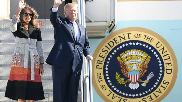 Melania und Donald Trump touren zehn Tage durch Asien