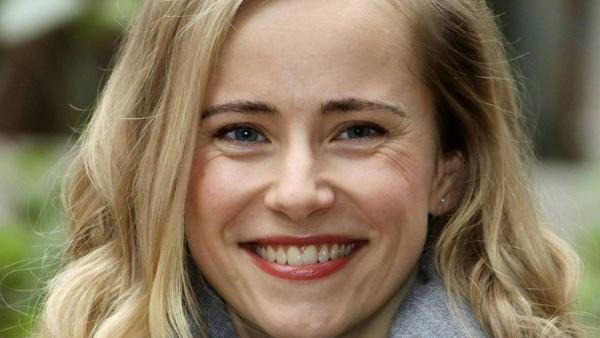 """Schauspielerin Susanne Bormann bei den Dreharbeiten zu """"Tatort: Der Fall Holdt"""" im November vor einem Jahr"""