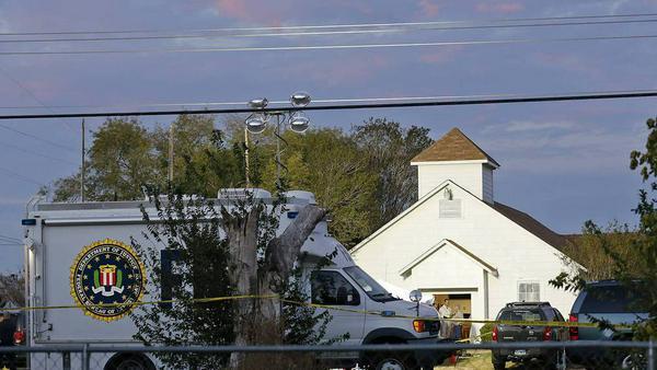 In Sutherland Springs erschoss ein Mann Gottesdienstbesucher