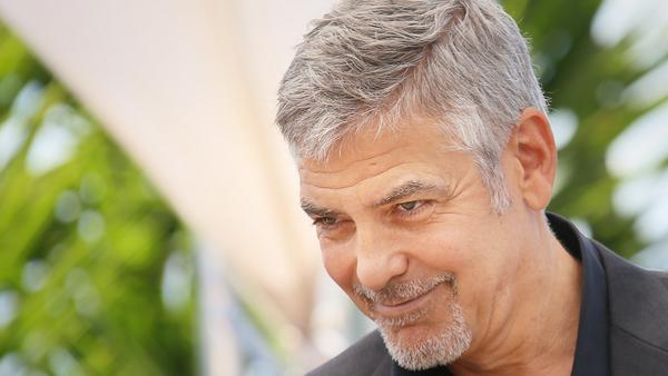 George Clooney bei einem Auftritt in Frankreich