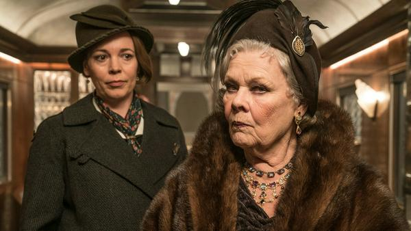 """Die Neuverfilmung von """"Mord im Orient Express"""" kommt am Donnerstag ins Kino. Der Film basiert auf dem gleichnamigen Roman von Agatha Christie"""