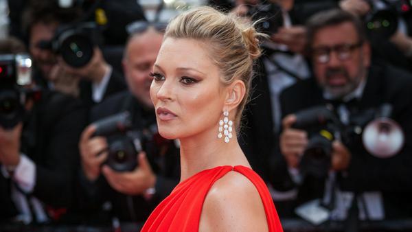 Glänzte auch in Cannes: Kate Moss