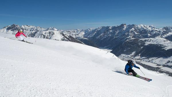 Livigno: gute Bedingungen für Skifahrer und Langläufer