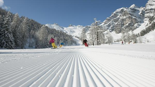 Ski-Shows und Panoramaschuss: Schlick 2000