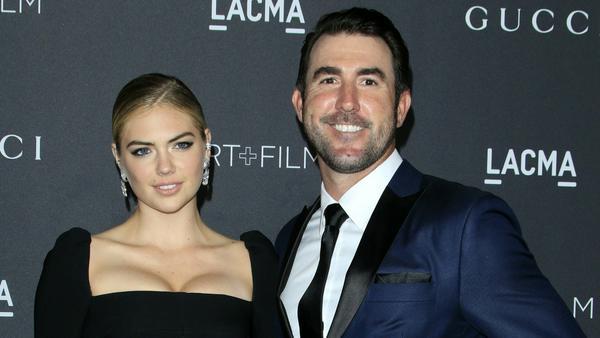 Kate Upton und Justin Verlander, hier auf einem Event in Los Angeles, sind seit dem Wochenende Mann und Frau