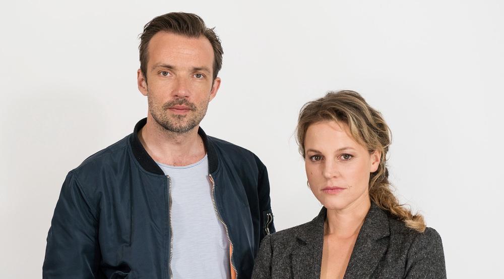 Kriminalhauptkommissarin Olga Lenski (Maria Simon) und Kriminalhauptkommissar Adam Raczek (Lucas Gregorowicz) ermitteln in den