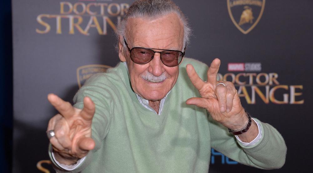 Stan Lee ist der Erfinder von vielen berühmten Comic-Helden