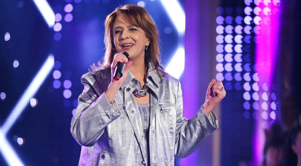 Andrea Jürgens bei einem Auftritt im Januar 2016