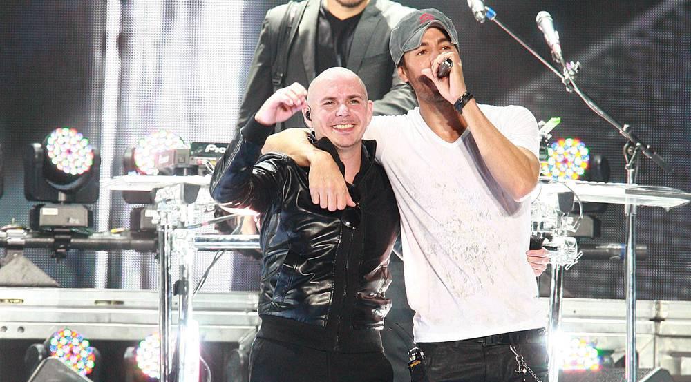 Enrique Iglesias und Pitbull teilen sich eine Bühne - und sind dabei mega erfolgreich