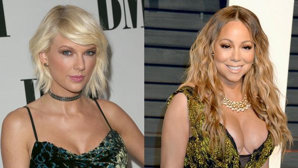 Ihre Fans ziehen an einem Strang: Chart-Stürmerinnen Taylor Swift und Mariah Carey
