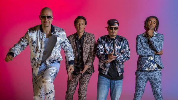 Mateo, Chino, Don Cali und Johnny (v.l.n.r.) sind seit 2002 feste Mitglieder von Culcha Candela und bieten ihren Fans so einige Ohrwürmer