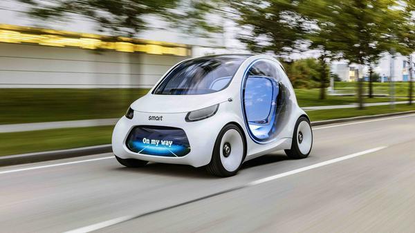 Urbane Mobilität ab 2030: Smart Vision EQ