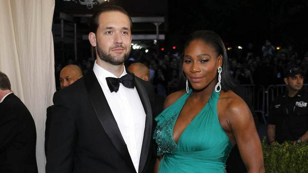 Alexis Ohanian und Serena Williams sind frischgebackene Eltern