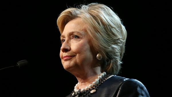 Hillary Clinton macht sich Luft
