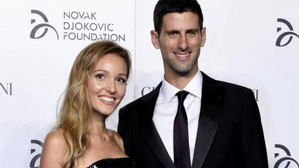 Novak Djokovic und seine Frau Jelena haben jetzt zwei Kinder