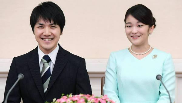 Prinzessin Mako und Kei Komuro haben sich verlobt