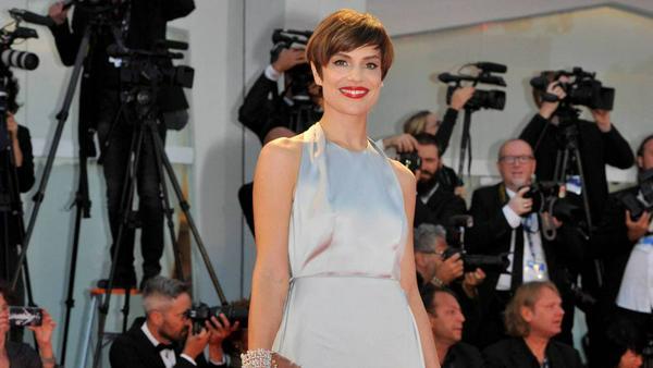 Micaela Ramazzotti war bei den Filmfestspielen in Venedig ein absoluter Hingucker