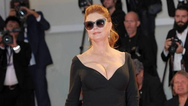 Susan Sarandon zog am Sonntagabend in Venedig alle Blicke auf sich