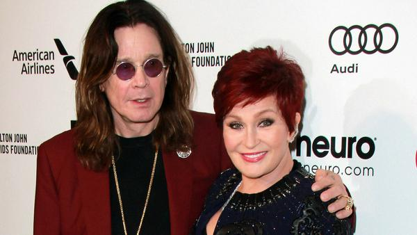 Ozzy und Sharon Osbourne bei einem gemeinsamen Auftritt in Hollywood