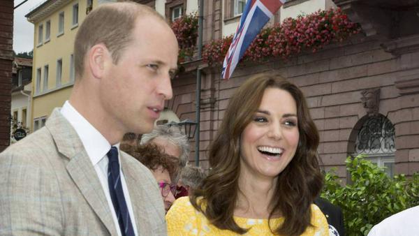 William und Kate freuen sich auf ihr drittes Kind