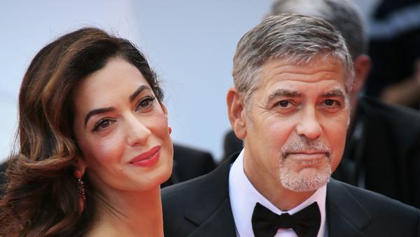 George und Amal Clooney hatten keine Lust auf verrückte Namen für ihre Kinder