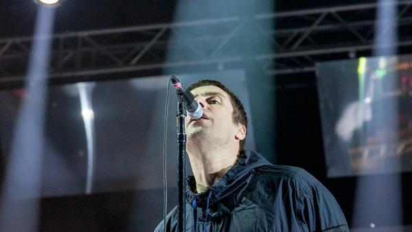 Liam Gallagher bei einem Auftritt im serbischen Novi Sad