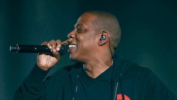 Jay Z in seinem Element - auf der Bühne