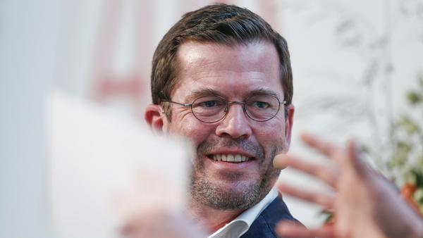 Karl-Theodor zu Guttenberg beim Innovationstag 2017