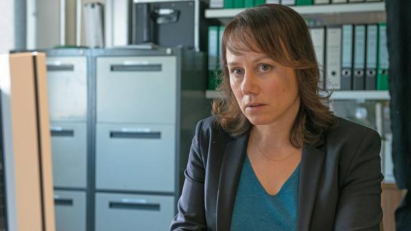 """Eva Löbau als Hauptkommissarin Franziska Tobler in """"Tatort: Goldbach"""""""
