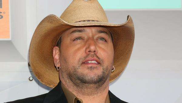 Jason Aldean bei den Country Music Awards in Las Vegas