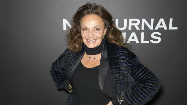 Diane von Fürstenberg sieht man ihr Alter überhaupt nicht an